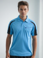 Men's Performance Contrast Polo
